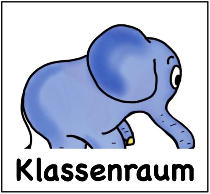 Klassenraum der Elefantenklasse